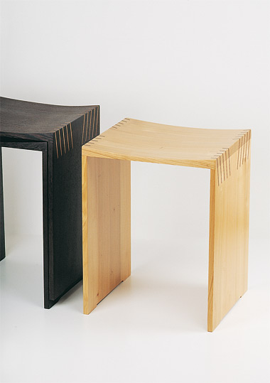 Design hocker holz  Hocker - Karl Decker - Holz+Design